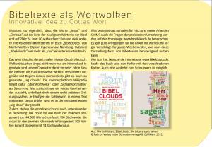 Artikel im Magazin des CVJM Bayerns, Ausgabe 1, 2014