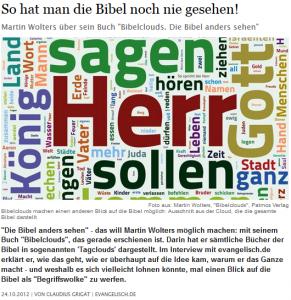 Interview auf evangelisch.de